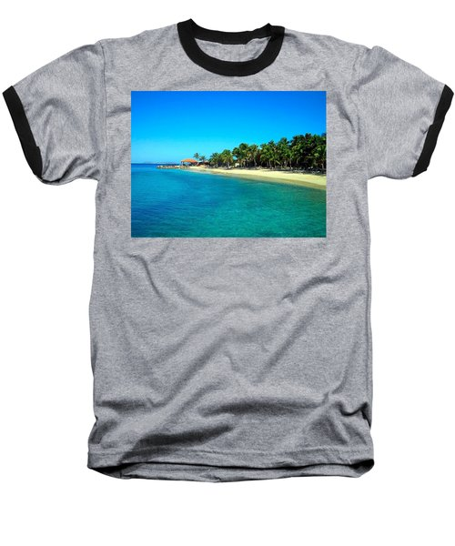 Tropical Bliss Baseball T-Shirt