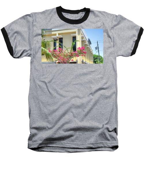 Tropical Bougainvillea Baseball T-Shirt