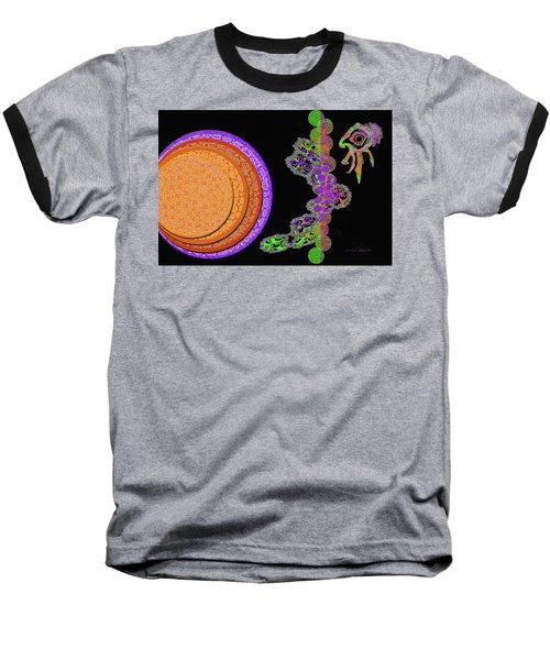 Tropical Dreams Baseball T-Shirt