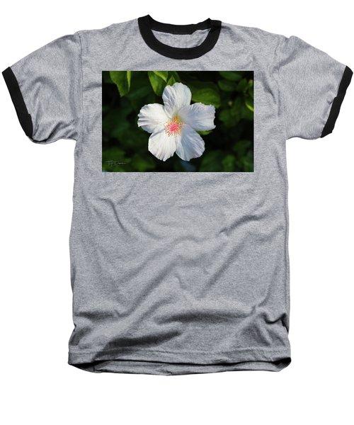 Tropical Flower 2 Baseball T-Shirt