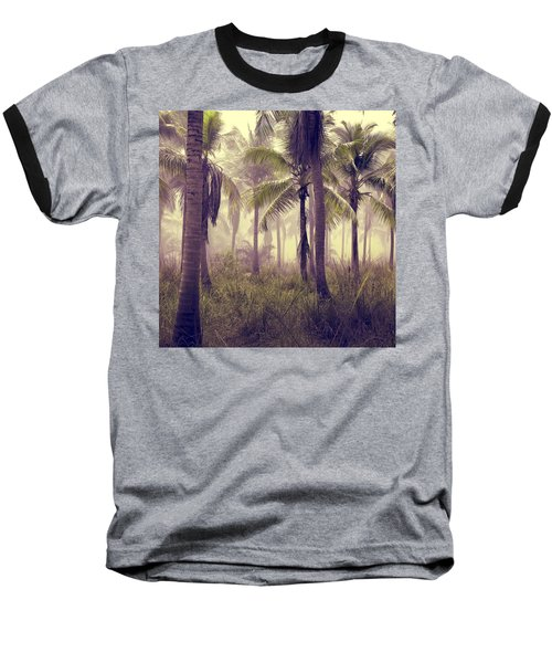 Tropical Forest Baseball T-Shirt