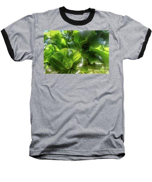 Tropical Forest Baseball T-Shirt