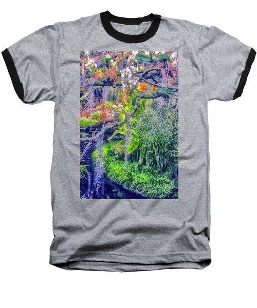Tropical Garden Baseball T-Shirt