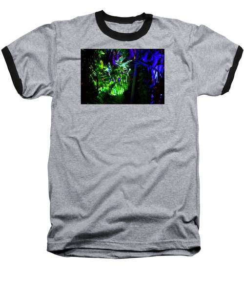 Baseball T-Shirt featuring the photograph Into The Psychedelic Jungle by Richard Ortolano