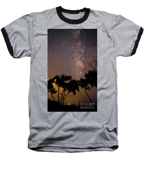 Tropical Milky Way Baseball T-Shirt