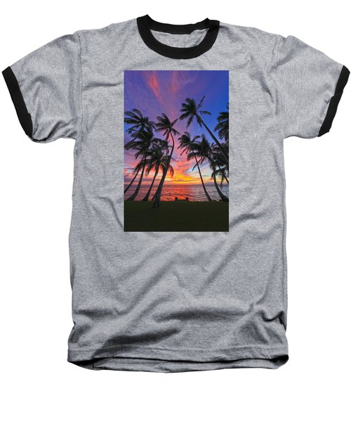 Tropical Nights Baseball T-Shirt