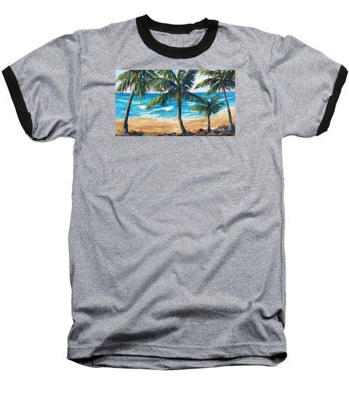 Tropical Palms I Baseball T-Shirt