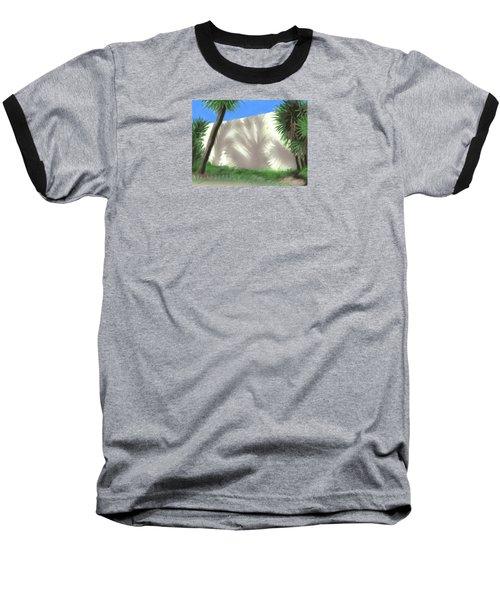 Tropical Shadows Baseball T-Shirt
