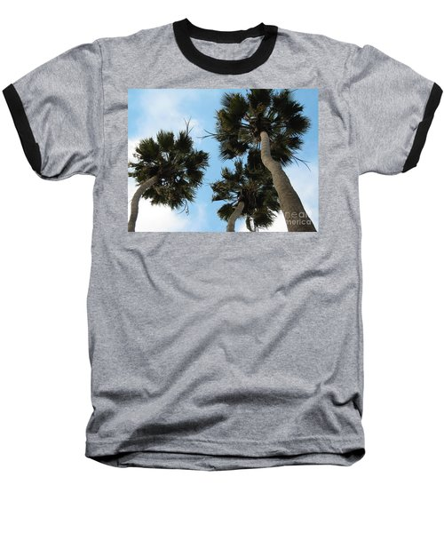 Tropical Splendor Baseball T-Shirt