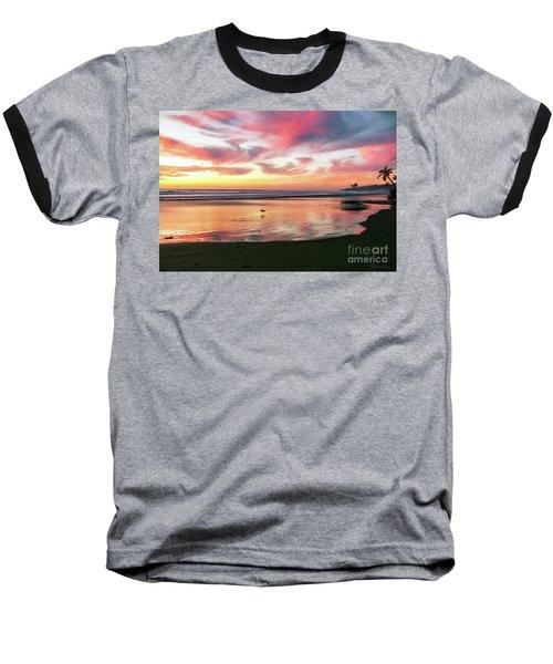 Tropical Sunset Island Bliss Seascape C8 Baseball T-Shirt