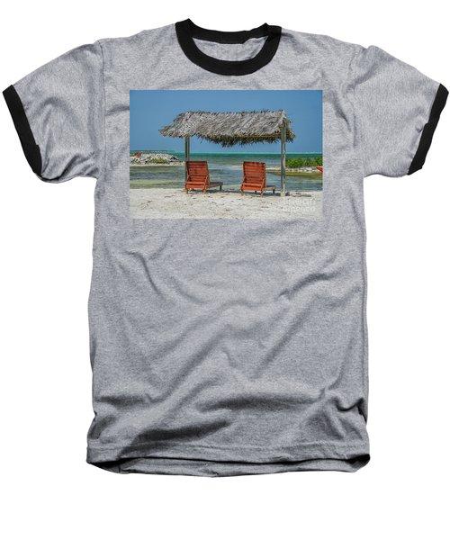 Tropical Vacation Baseball T-Shirt