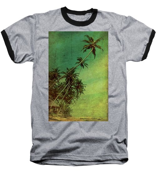 Tropical Vestige Baseball T-Shirt