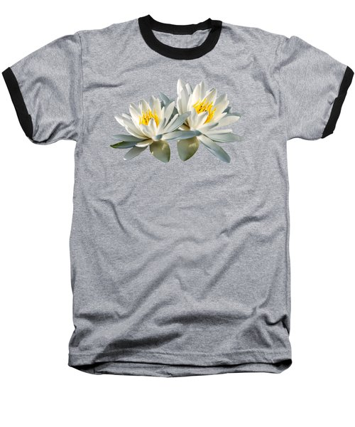 Baseball T-Shirt featuring the photograph Tropical Water Lily by Christina Rollo
