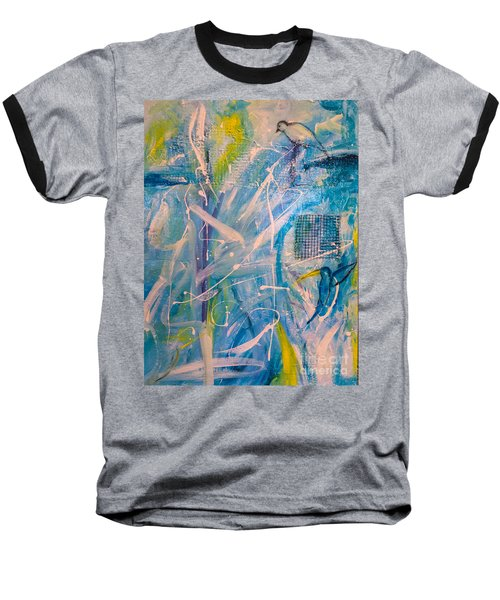 Tropicana Bird 02 Baseball T-Shirt by Gallery Messina