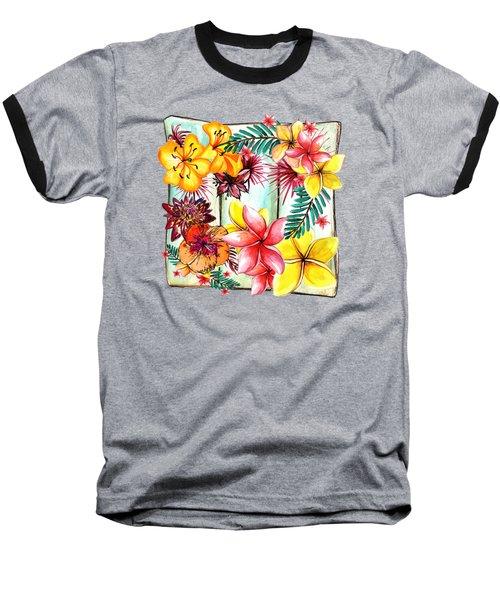 Tropicana By Kaye Menner Baseball T-Shirt