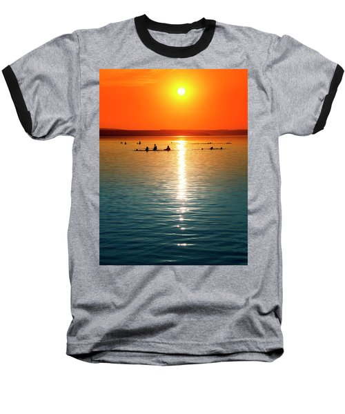 Tropicana Swimming Baseball T-Shirt