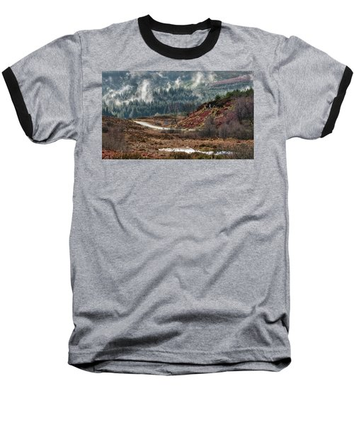 Baseball T-Shirt featuring the photograph Trossachs National Park In Scotland by Jeremy Lavender Photography