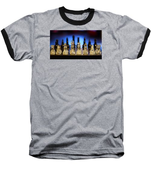 Baseball T-Shirt featuring the photograph Trouble On The Horizon by Stephen Flint