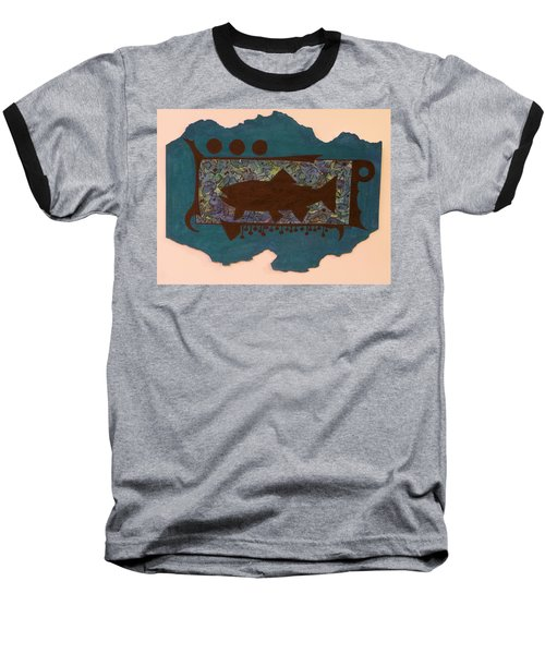 Trout Silhouette Baseball T-Shirt