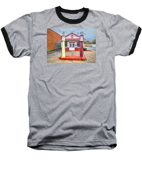 Baseball T-Shirt featuring the photograph Trucking Museum by Marion Johnson