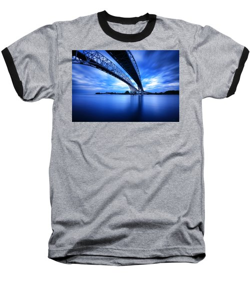 True Blue View Baseball T-Shirt by Gordon Dean II