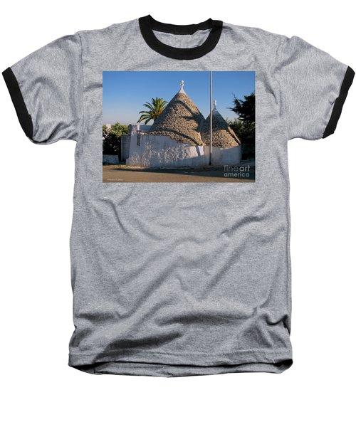 Trullo, Puglia Baseball T-Shirt