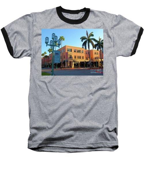 Truluck's Restaurant In Beautiful Mizner Park. Boca Raton, Fl. Baseball T-Shirt