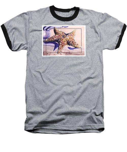 Trum L'oeil.star Fish Baseball T-Shirt