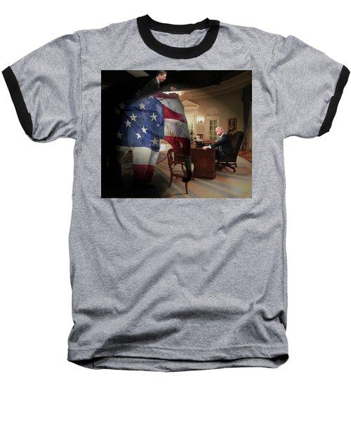 Trump And Comey Baseball T-Shirt