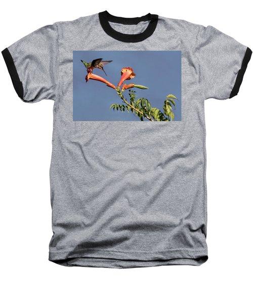 Trumpet Call Baseball T-Shirt