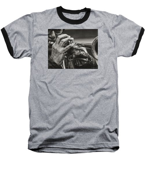 Baseball T-Shirt featuring the photograph Trumpet Solo by Pedro L Gili