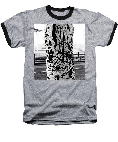 Trunk Art Lisbon Baseball T-Shirt by Lorraine Devon Wilke