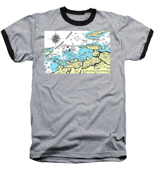 Trunk Bay, St. John Baseball T-Shirt