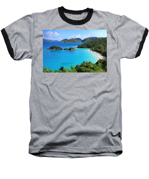 Trunk Bay St. John Baseball T-Shirt