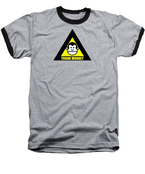 Trunk Monkey Baseball T-Shirt