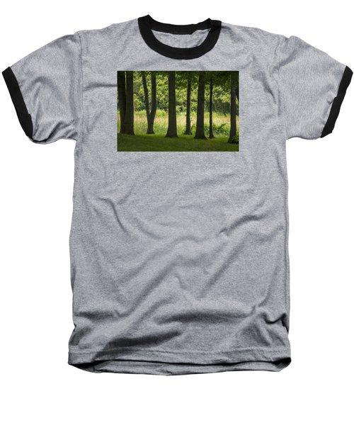 Trunks In A Row Baseball T-Shirt