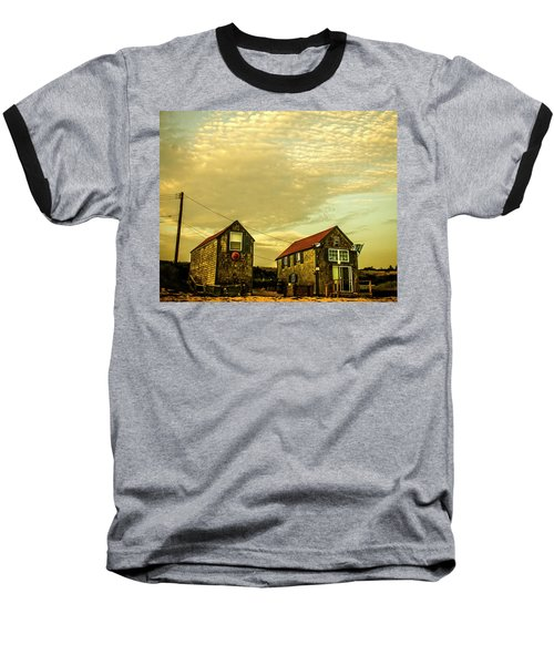 Truro Beach Houses Baseball T-Shirt
