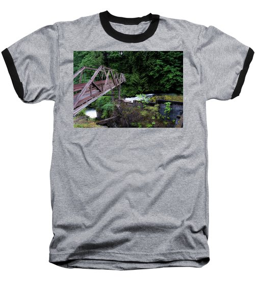 Baseball T-Shirt featuring the photograph Trussting by Rhys Arithson