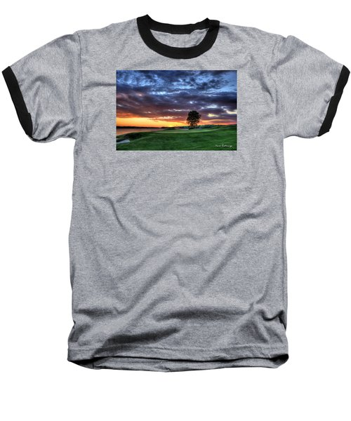 Try Me The Landing Baseball T-Shirt by Reid Callaway