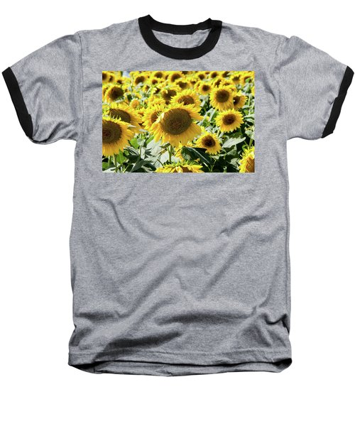 Baseball T-Shirt featuring the photograph Trying To Feel Unique by Greg Fortier