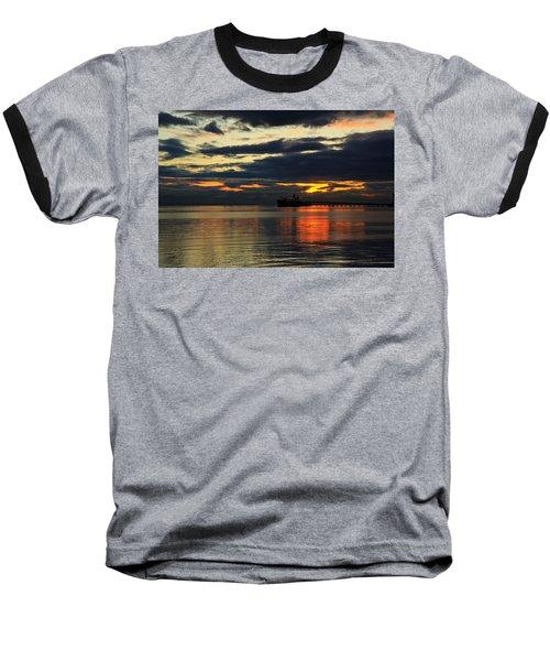 Tsawassen Sunset Baseball T-Shirt