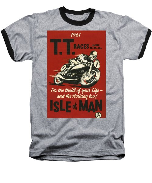 Tt Races 1961 Baseball T-Shirt