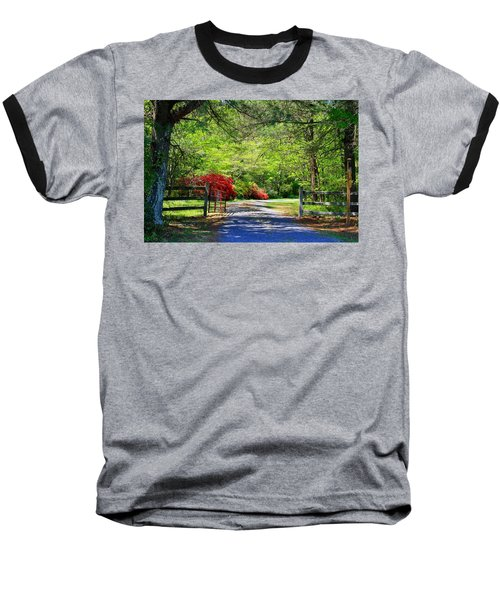 Baseball T-Shirt featuring the photograph Tucked Away by Kathryn Meyer