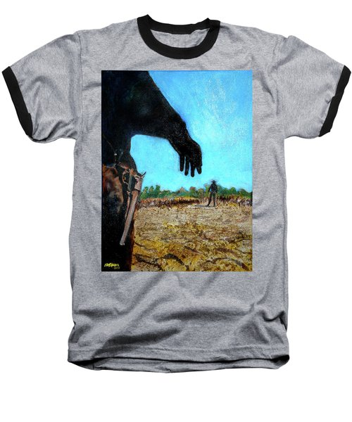 Baseball T-Shirt featuring the painting Tuco  by Seth Weaver