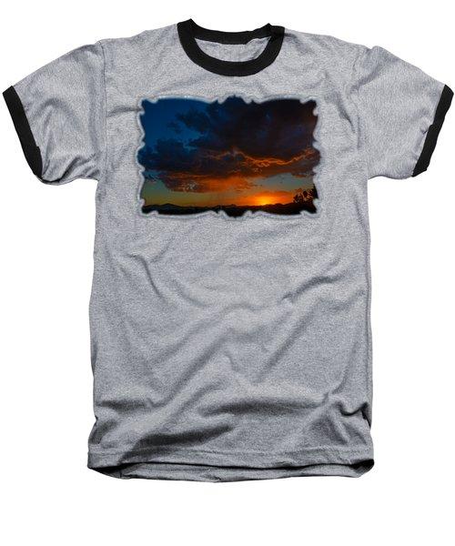 Tucson Sunset H59 Baseball T-Shirt