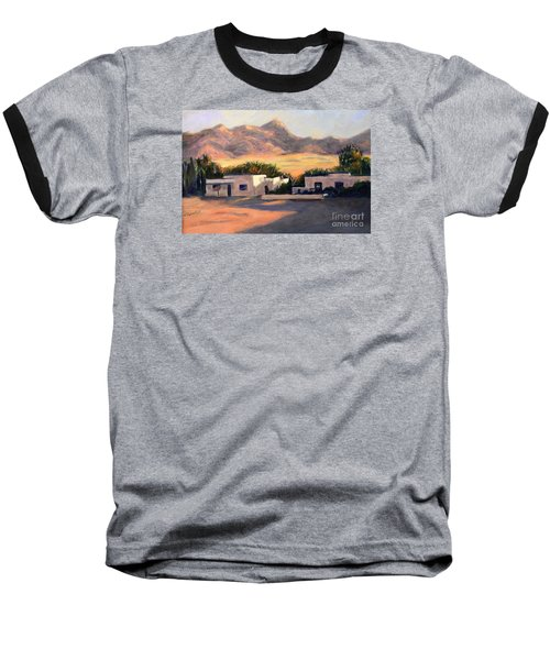 Baseball T-Shirt featuring the painting Tucson,az by Marcia Dutton