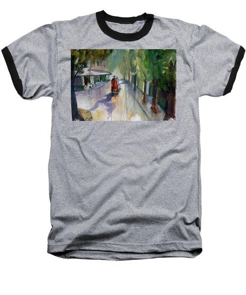 Tudo Street, Saigon 9 Baseball T-Shirt by Tom Simmons