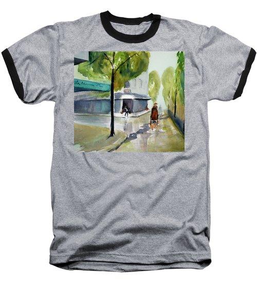 Tudo Street, Saigon11 Baseball T-Shirt by Tom Simmons