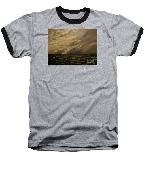 Baseball T-Shirt featuring the painting Tuesday Morning by John Stuart Webbstock