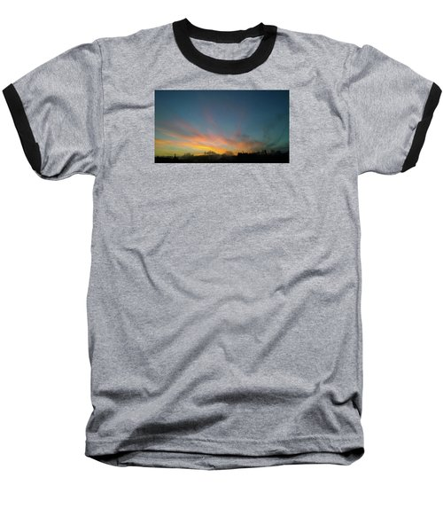 Baseball T-Shirt featuring the photograph Tuesday Sunrise by Anne Kotan